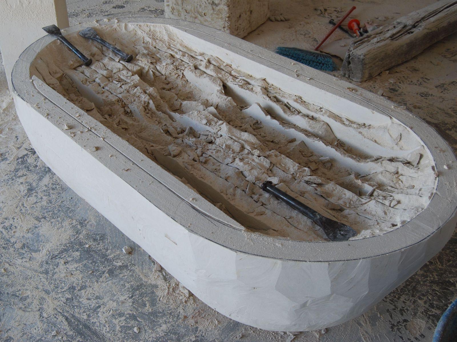 Limestone bathtub 28 images galala beige cream marble for Limestone tub