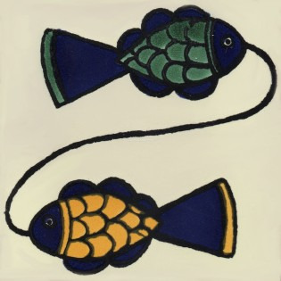 Mexican Talavera Tiles Fish 4