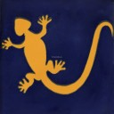 Mexican Talavera Tiles Lizard 2