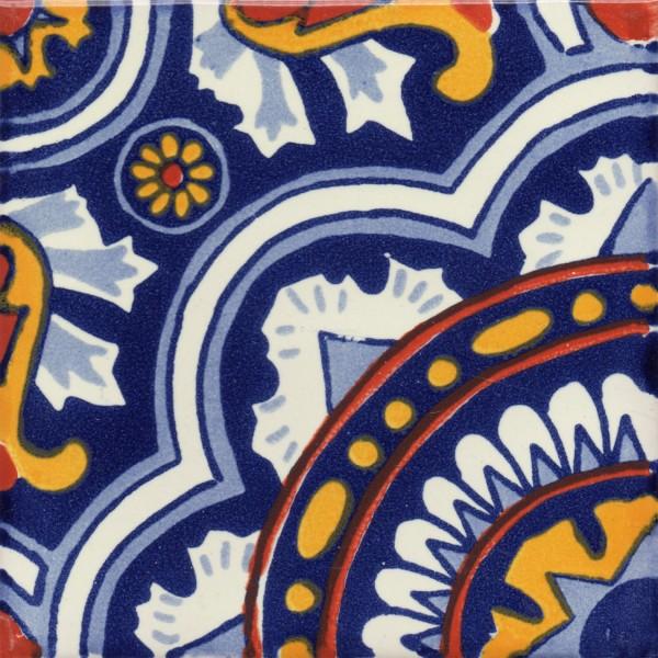 Mexican Talavera Tile Caleidoscopio - Discount mexican tile