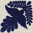 Mexican Talavera Tile Dove 3