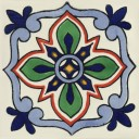 Mexican Talavera Tile Bella 2