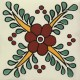 Mexican Talavera Tiles Flowers 6