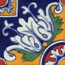 Mexican Talavera Tile Bernal