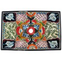 Mexican Talavera Vessel Rectangular Sink VSR03