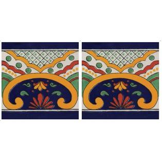 Mexican Talavera Border Tile Saucillo