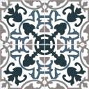 Mission Cement Tile Campanello