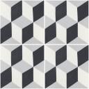 Mission Cement Tile Harlequin