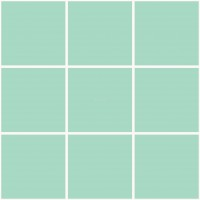 Mission Cement Field Tiles Solid Paleturquoise