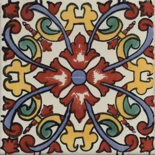 Mexican Talavera Tile Charlotte 3