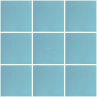Mexican Ceramic Frost Proof Tiles Azul Turqueza