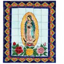 Ceramic Frost Proof Mural Virgen 1