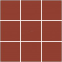 Mission Cement Field Tiles Solid Redwine