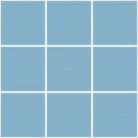 Mission Cement Field Tiles Solid Skyblue