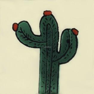 Mexican Talavera Tiles Cactus 4