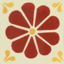 Mexican Talavera Tiles Daisy 3