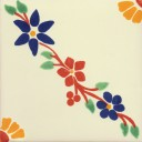 Ceramic Frost Proof Tiles Flowers 3