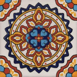 Mexican Talavera Tile  Palermo 2