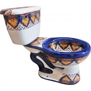 "Talavera Toilet Set ""Sayula"""