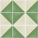 Mexican Talavera Tiles White Green