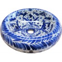 Talavera Round Vessel Sink Donut Talavereado