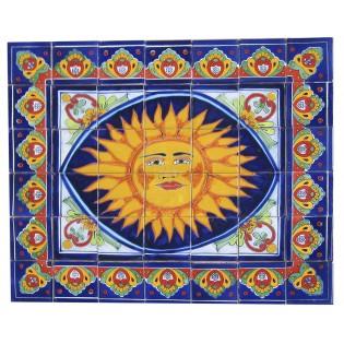 Ceramic Frost Proof Mural Sunshine1