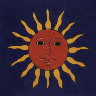 Mexican Talavera Tiles Sun 3
