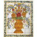 Ceramic Frost Proof Mural Flores3