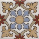 Ceramic High Relief Tile Santa Elena Flor