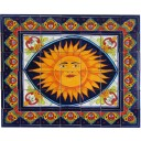 Mexican Talavera Mural Sunshine1