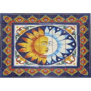Ceramic Frost Proof Mural Eclipse1