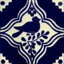 Mexican Talavera Tiles Dove 1
