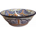 Mexican Talavera Vessel Sink VS13