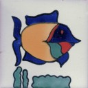 Mexican Talavera Tiles Fish 5