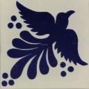 Mexican Talavera Tiles Dove 9