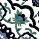 Ceramic High Relief Tile Ellen