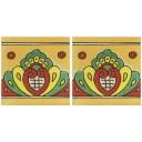 Mexican Talavera Border Tile Tamuin