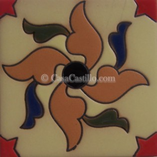 Ceramic High Relief Tile CS147