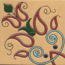 Ceramic High Relief Tile CS5