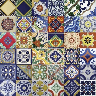 Ceramic Frost Proof Tiles Mixed Selection - SALE