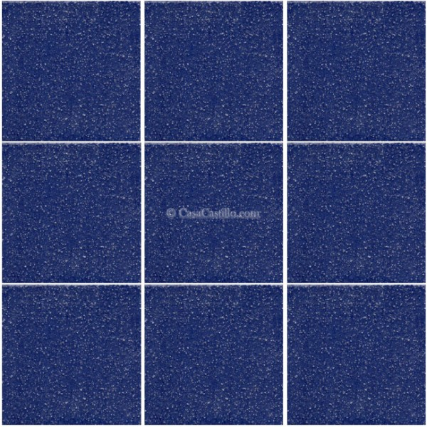Ceramic Frost Proof Tiles NONSLIP Cobalt Blue - Cobalt blue ceramic tile 4x4