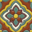 Ceramic High Relief Tile Capitola 2