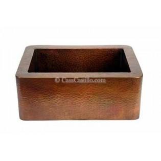 Copper Apron Sink 1 Bowl Baby