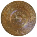 Copper Aztec Calendar Hammered - IN STOCK