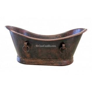Copper Bathtub Grand Slipper