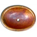Copper Sink Oval Natural