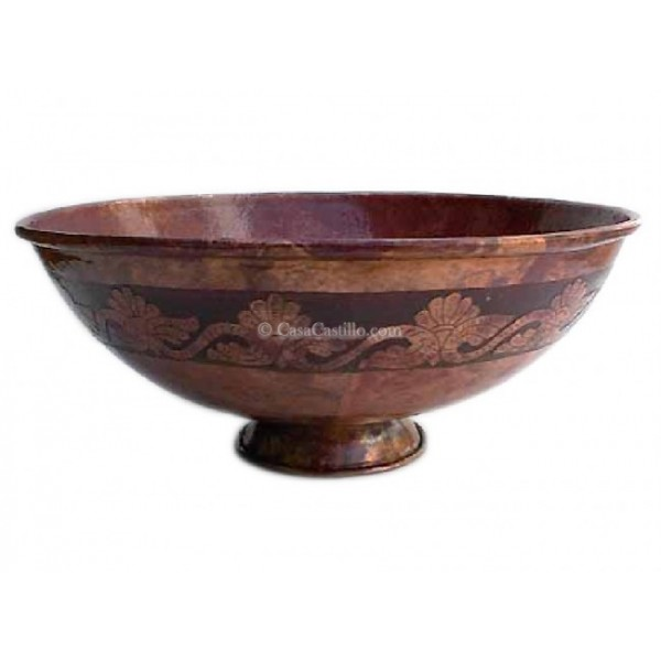 Mexican Sinks Bathroom: Copper Sink Mexican Bathroom Hammered