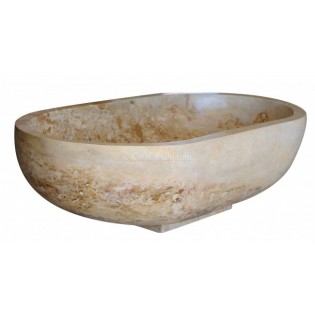 Marble Travertine Bathtub Elizabeth