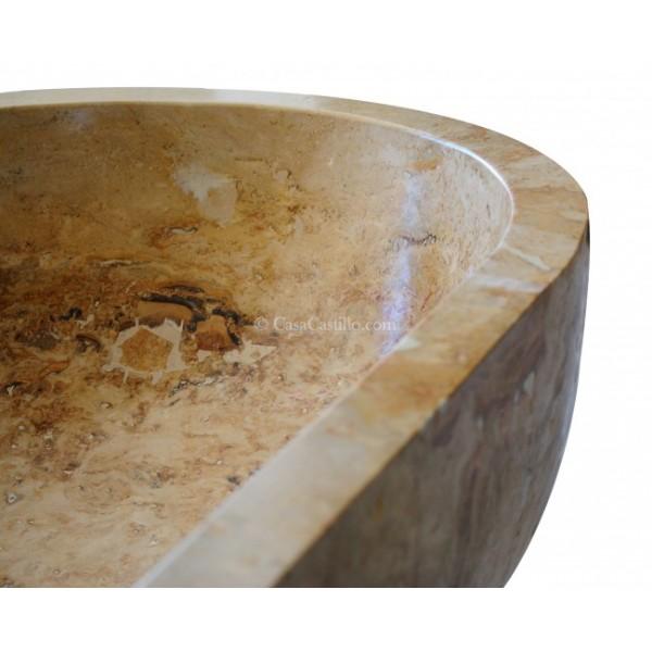 Marble Travertine Bathtub Elizabeth