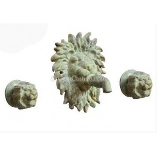 Mexican Bronze Faucets Set Daroca